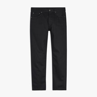 Pantalon Denim 5 Poches, NOIR, hi-res
