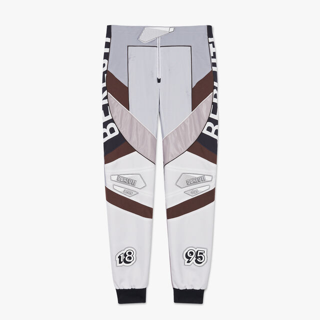 Patchwork Motocross Biker Pants