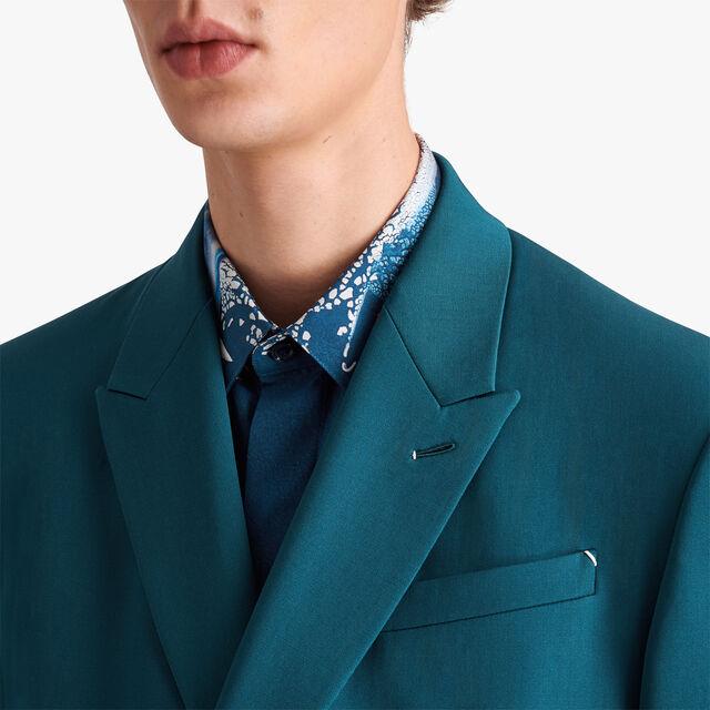 双排扣羊毛夹克, ALPINE GREEN, hi-res