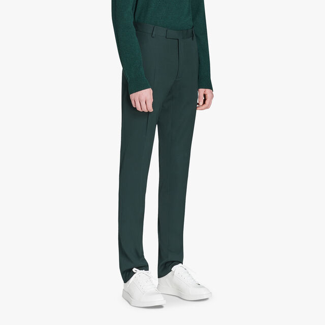 Formal Wool Lined Regular-Fit Pants , OPUNTIA, hi-res