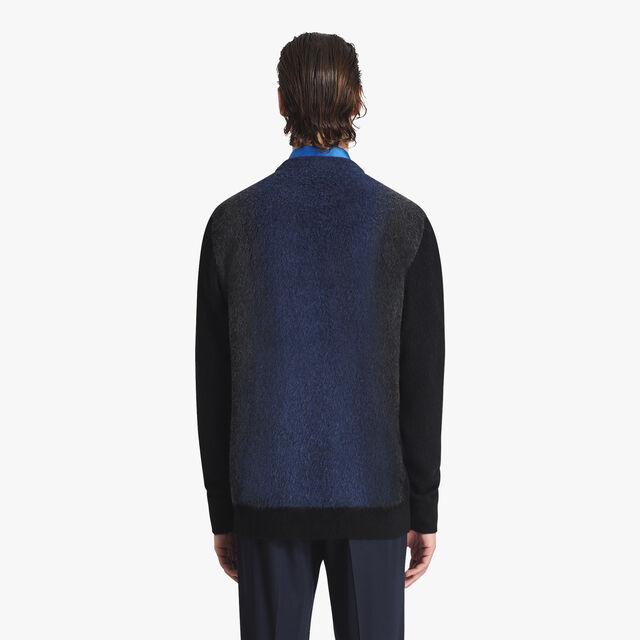 Jacquard  Cashmere Sweater, PLEIADES BLUE, hi-res