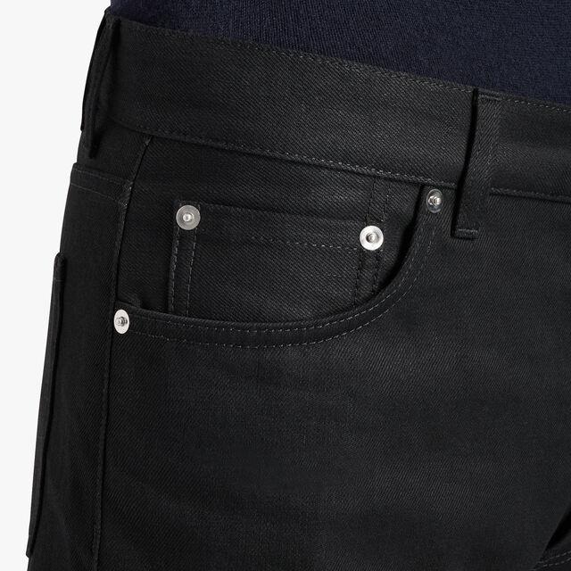 Regular Fit 5-Pocket Denim, NOIR, hi-res
