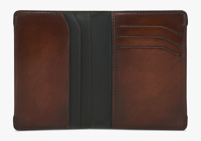 Ideal Leather Card Holder, MOGANO, hi-res