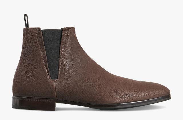 Lorenzo Rimini Goat Leather Boot, EBANO, hi-res
