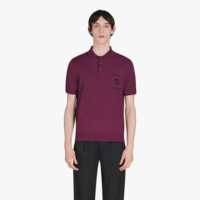 Regular Fit Short Sleeves Bicolor Wool Sweater, METAMORPHOSIS, hi-res