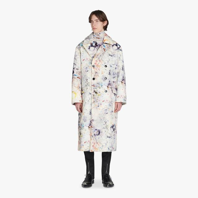 有大理石印花的宽松大衣, MARBLE, hi-res