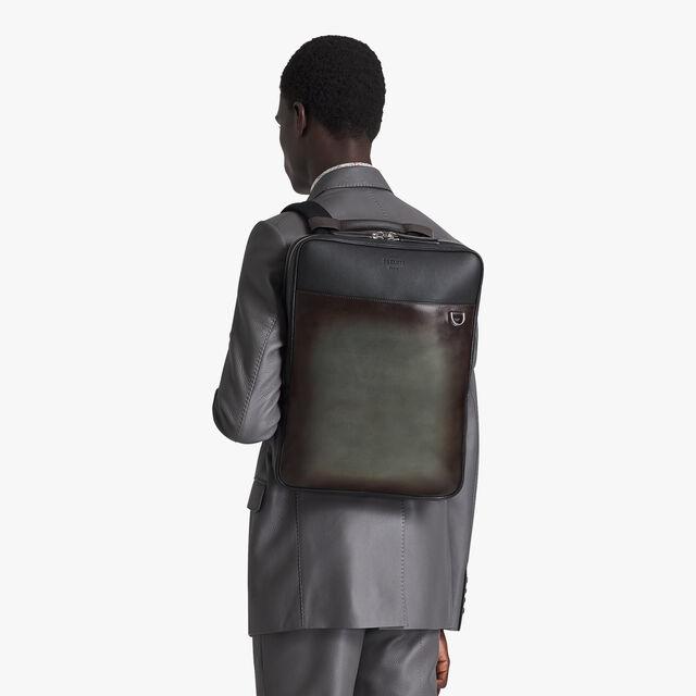 Contraste 皮革背包, ICE BROWN, hi-res