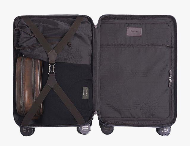 フォーミュラ 1004 レザー ローリングスーツケース, NERO GRIGIO, hi-res