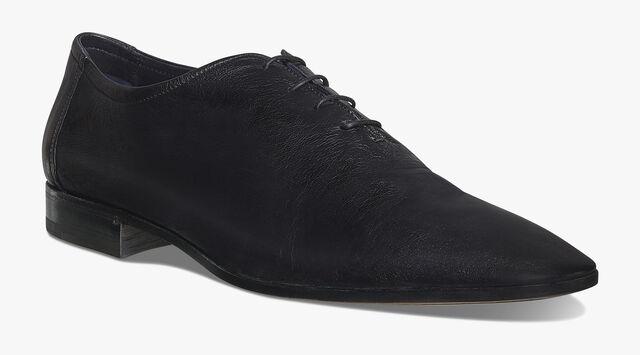 Lorenzo Rimini Kangaroo Leather Oxford, NERO, hi-res