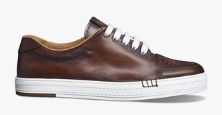Playtime Palermo Venezia Calf Leather Sneaker, MOGANO, hi-res