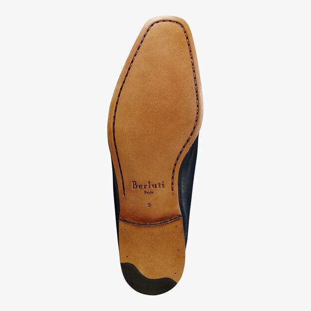 Lorenzo Rimini Lamb Leather Loafer, NAVY BLU, hi-res