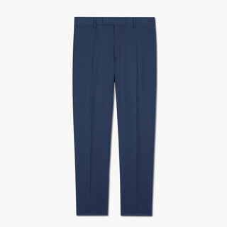 Pantalon Coupe Regular En Laine
