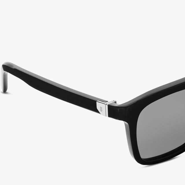 Acetate And Metal Magnetic Eyewear , BLACK+SMOKE POLAR, hi-res