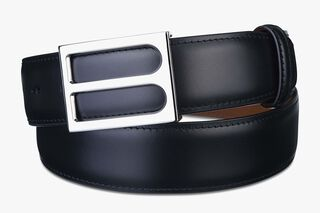 Ceinture B En Cuir - 35mm, BLACK KNIGHT, hi-res
