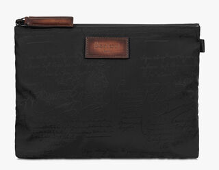 Esprit Medium Nylon Clutch, NERO, hi-res
