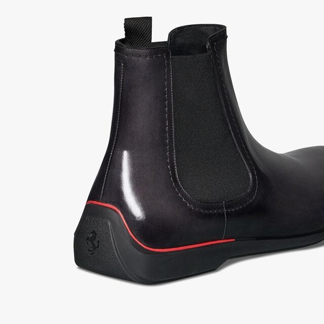 Ferrari Calf Leather Boot - In-Store Exclusive, GRAPHITE, hi-res