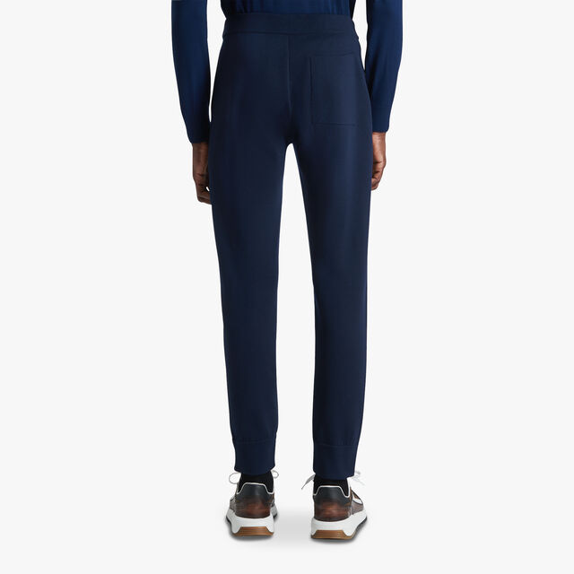 Double Face Trousers, BLUE WINTER NIGHT, hi-res