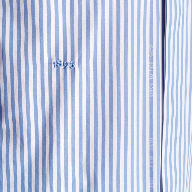 스트라이프 앤디 셔츠, DEEP SEA BLUE, hi-res