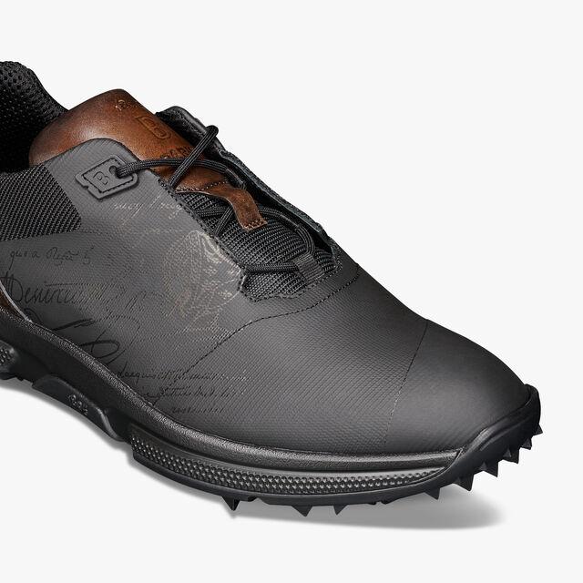 Swing Nylon Golf Shoe, BLACK, hi-res