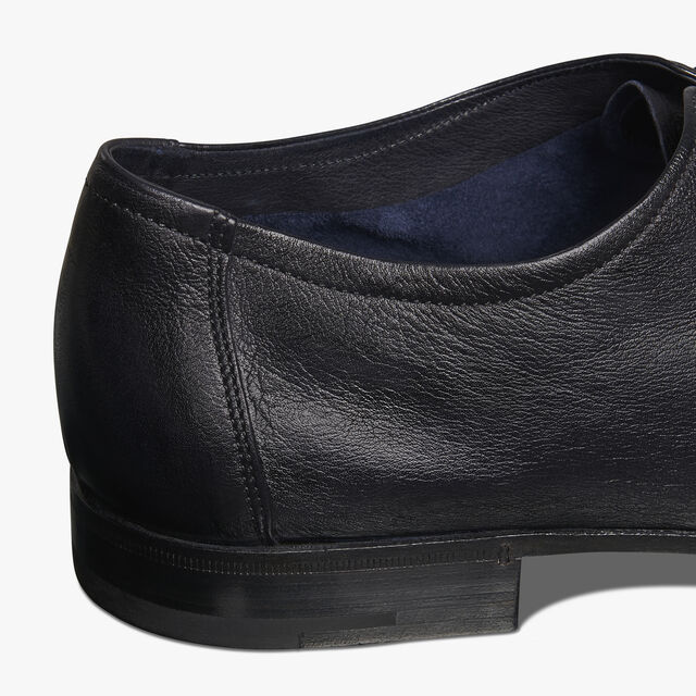 Lorenzo Kangaroo Leather Oxford, NERO, hi-res