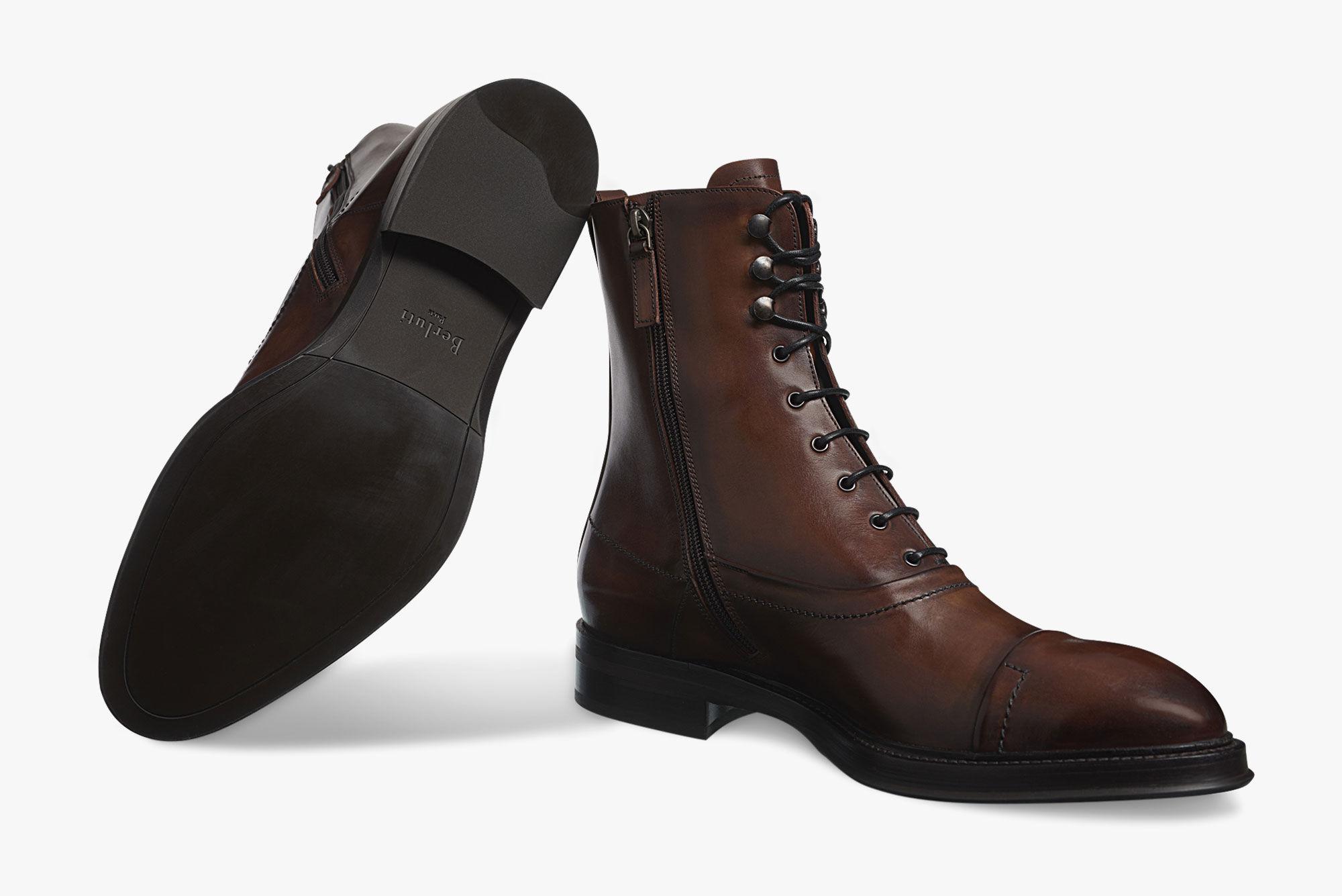 best sale online outlet excellent Berluti Eris Bergen Leather Boots outlet store sale online outlet prices jkbwev