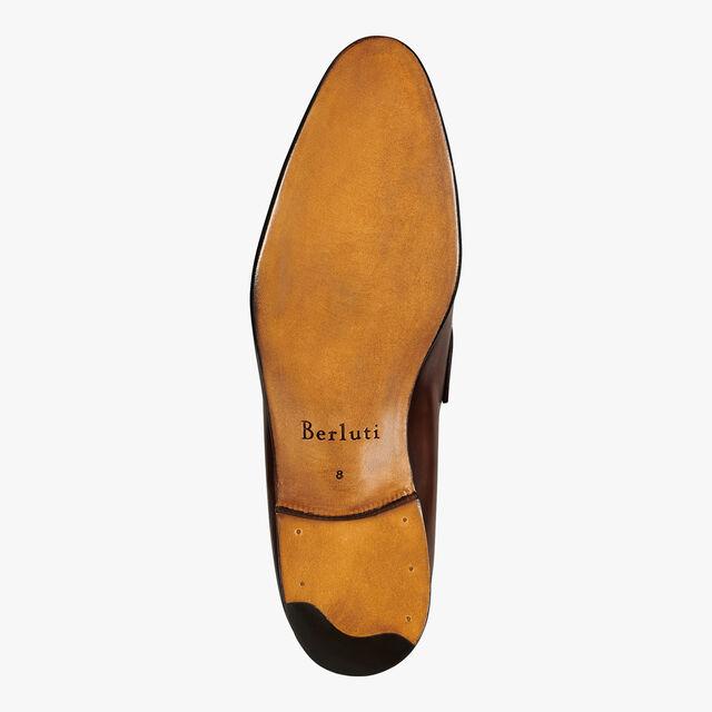 Gaspard Galet Calf Leather Loafer, MOGANO, hi-res