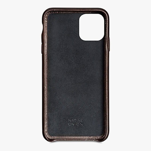iPhone 11 Pro Max Leather Case, ICE BROWN, hi-res