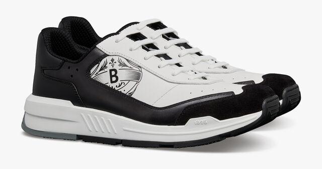 Pulse Leather Sneaker, FLANEL, hi-res