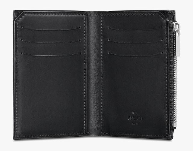 Périple Scritto Leather Wallet, ICE BLACK, hi-res