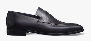 Andy Démesure Venezia Calf Leather Loafer, Calf Leather Sole, NERO, hi-res