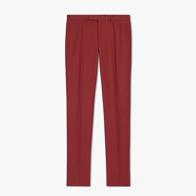 Chino Trousers, BLACK CHERRY, hi-res