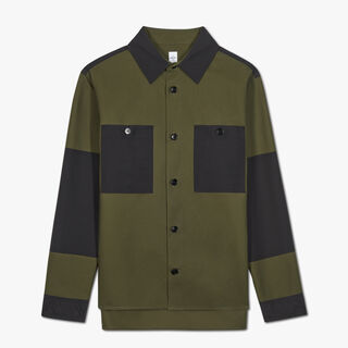 Colorblock Overshirt