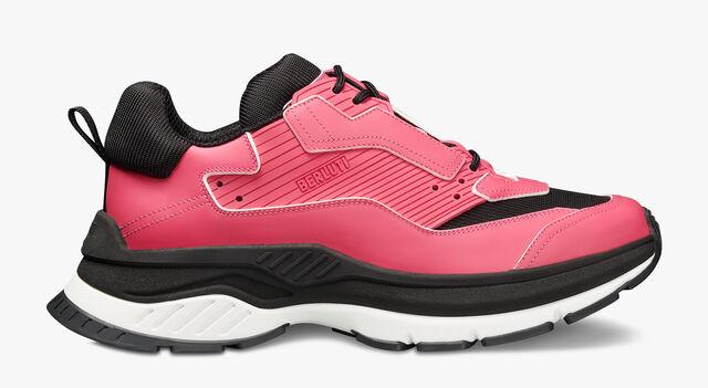 Gravity Leather Sneaker, PURPLE STRIPE, hi-res