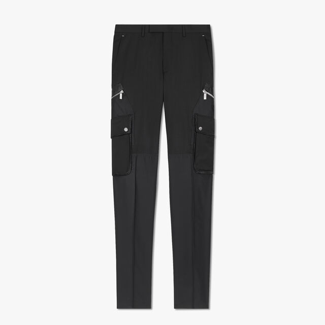 Cargo Trousers, NOIR, hi-res