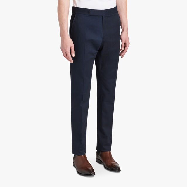 Cotton Chino Trousers , ECLIPSE, hi-res