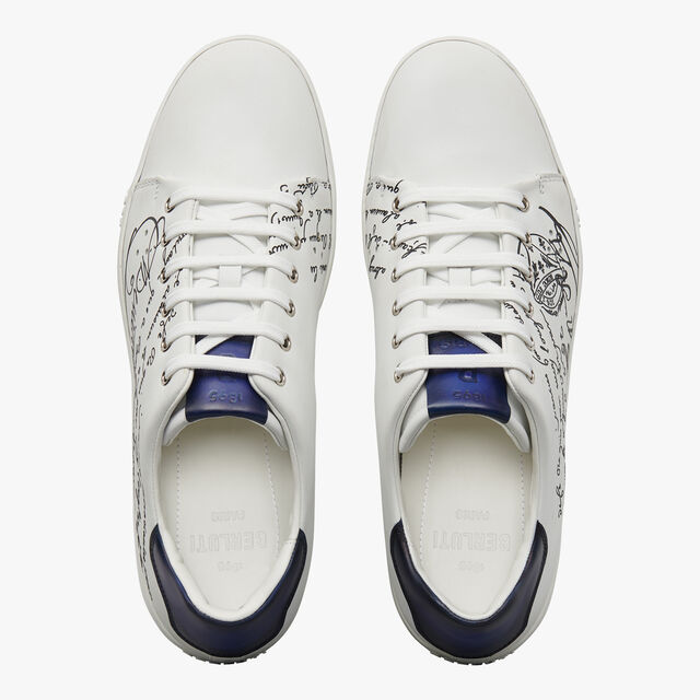 Playtime Scritto Leather Sneaker, WHITE, hi-res