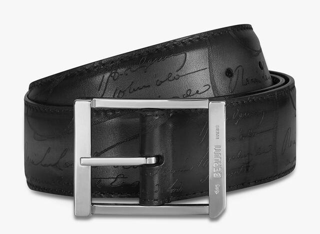First Venezia 40 MM Belt, NERO GRIGIO, hi-res