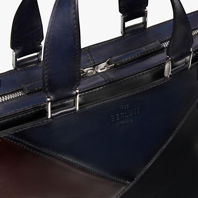 Profil 3 Small Leather Briefcase
