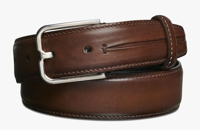 Essence Gaspard Leather Belt - 32 mm, MOGANO, hi-res