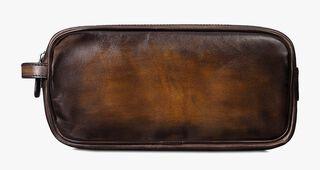 Formula 1003 Calf Leather Pouch, TOBACCO BIS, hi-res