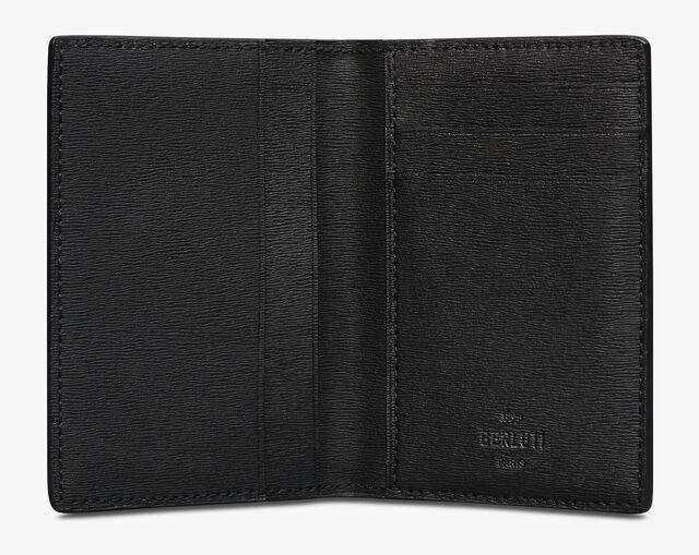 Jagua Scritto Swipe Leather Card Holder, TERRACOTTA, hi-res
