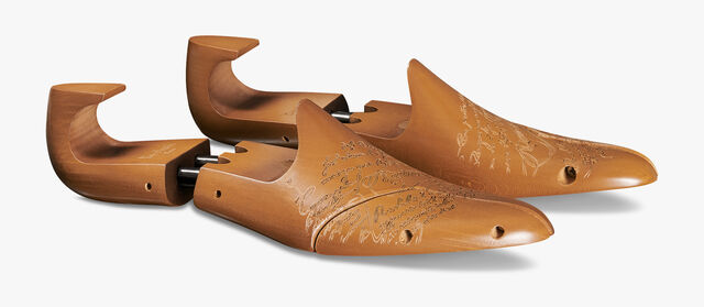 Wooden Shoe Trees, BROWN, hi-res