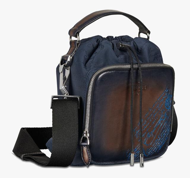 Hike On Mini Nylon and Leather Scritto Messenger Bag
