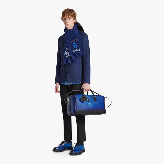 Aventure Medium Leather Travel Bag, DEEP SEA BLUE, hi-res