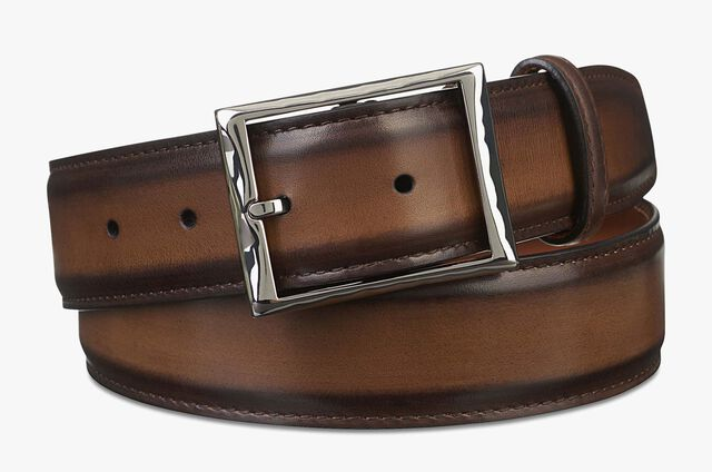 Classic Leather Belt - 35 mm, TOBACCO BIS, hi-res