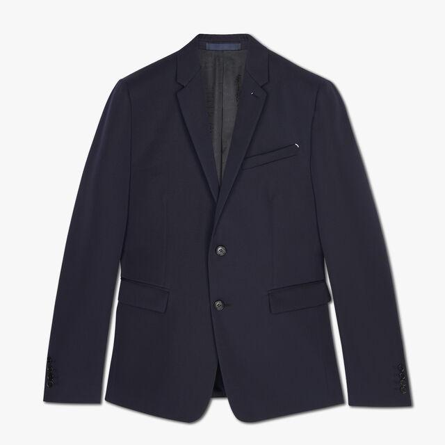 Slim Fit Japanese Wool Suit Jacket