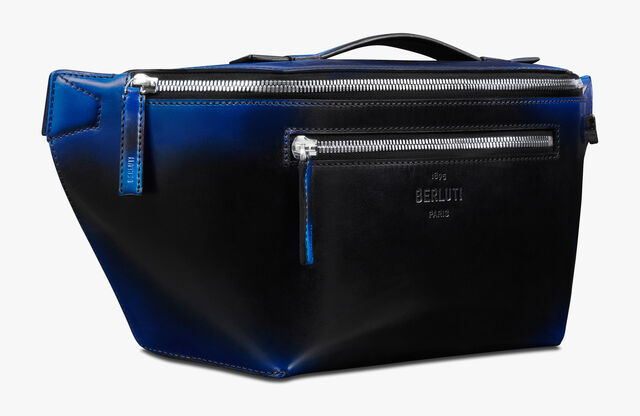 Complice Edge Large Leather Messenger Bag, CLOUDY BLUE, hi-res
