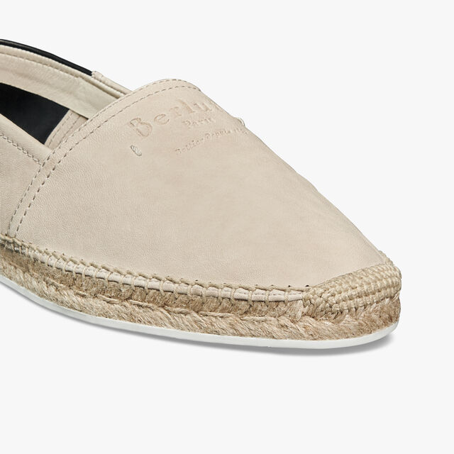 Iban Biarritz Agnello皮革便鞋, IVORY, hi-res
