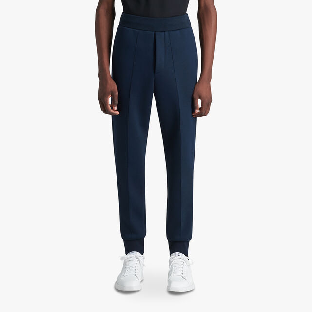 Jogging Trousers With Embroidered Crest, ULTRAMARINE  / LEAD, hi-res