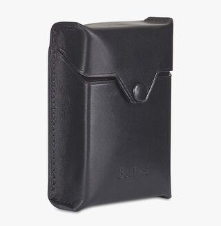 Leather Cigarette Case, NERO, hi-res